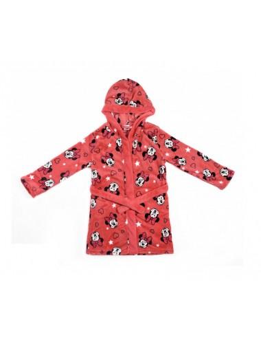 Župan Minnie Mouse - oranžovo-růžový