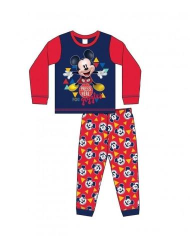 Mimi pyžamo s dl. rukávem + kalhoty Mickey Mouse