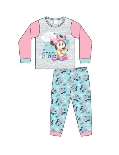 Mimi pyžamo s dl. rukávem + kalhoty Minnie Mouse
