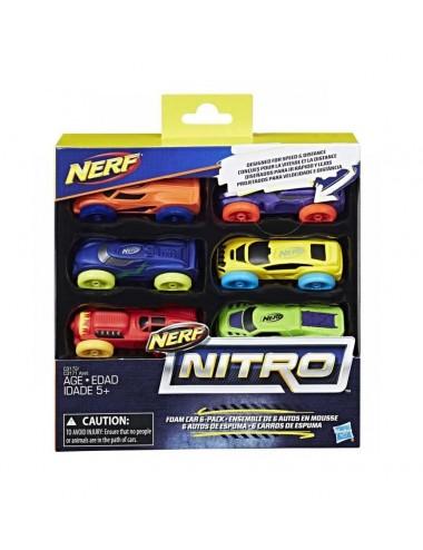 NERF nitro - sada 6ks náhradních autíček
