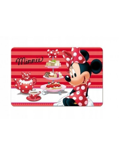Podložka Minnie Mouse - červená