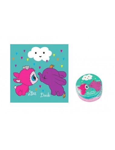 Magický ručník Ylvi - mint (Zooi & Doodo)