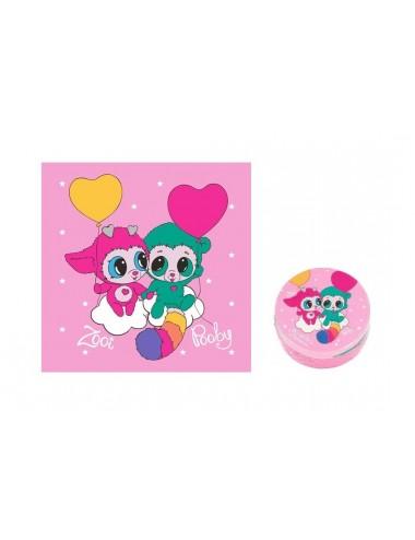 Magický ručník Ylvi - růžový (Zooi & Pooby)