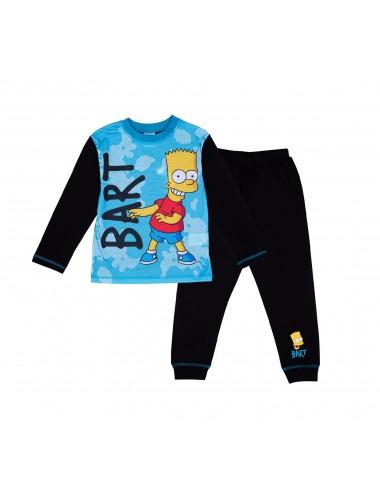 Pyžamo s dl. rukávem + kalhoty Simpsonovi (Bart)