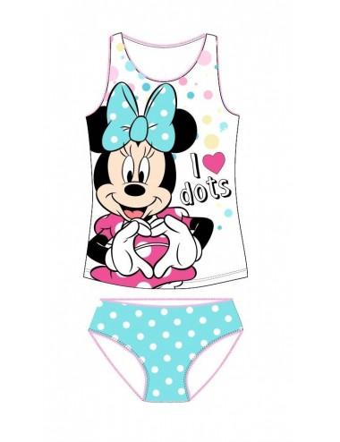Set tílko + kalhotky Minnie Mouse - modrá