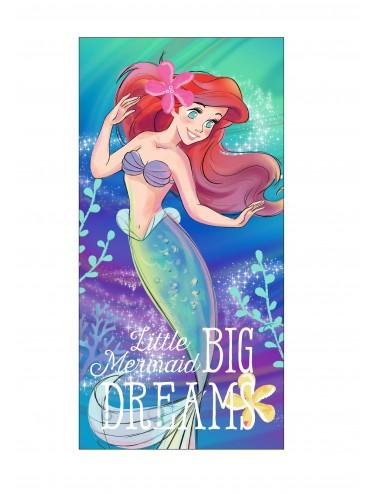 Velká osuška Ariel: malá mořská víla