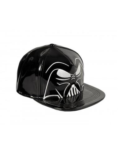 Koženková kšiltovka s rovným kšiltem Star wars - Darth Vader
