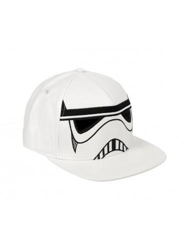 Kšiltovka s rovným kšiltem Star wars - Stormtrooper