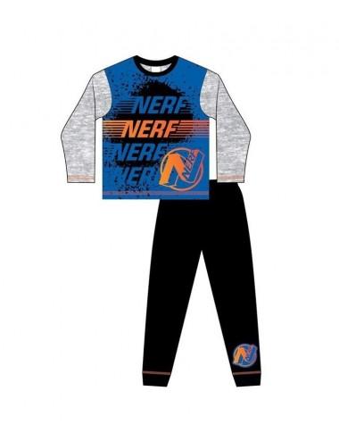 Pyžamo s dl. rukávem + kalhoty NERF