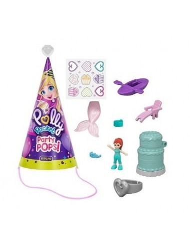 Polly Pocket - party čepice s překvapením