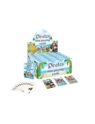 MINI hrací karty - piráti