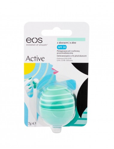 Balzám na rty EOS - active (s aloe vera)