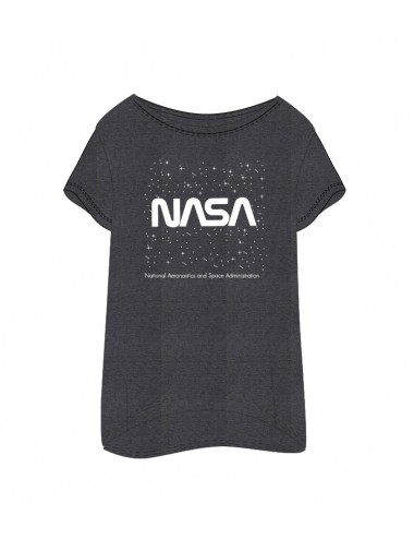Dámské triko / košile NASA - tmavě šedá