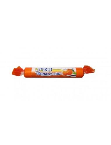 PEZ hroznový cukr - pomeranč