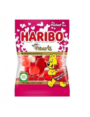 Haribo - zamilovaná srdíčka