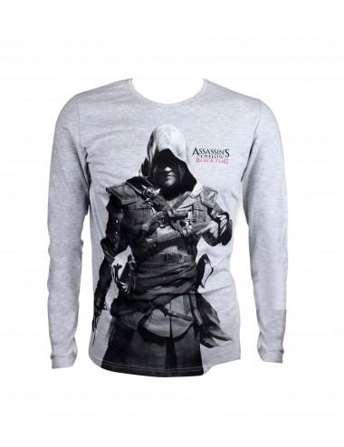 Triko s dl. rukávem Assassin's Creed - šedá