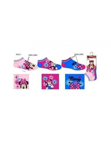 Kotníkové ponožky Minnie Mouse (3 pack)