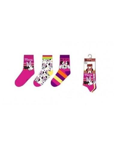 Ponožky Minnie Mouse - růžové