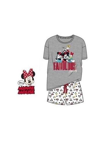 Dámské pyžamo Minnie Mouse & přátelé - šedá