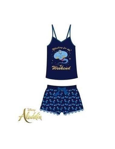 Dámské pyžamo Aladin - modrá