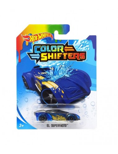 Mění barvu ve vodě! Hot wheels - El Superfasto (BHR28-0913)