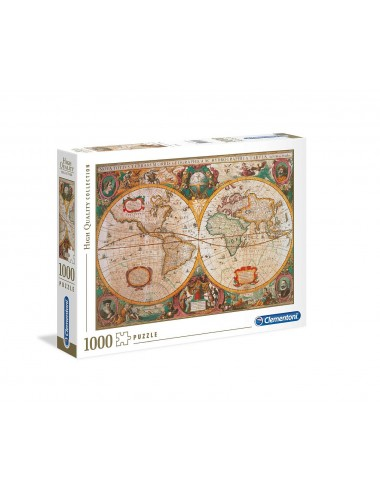 Puzzle Clementoni - Antická mapa (1.000 dílků)