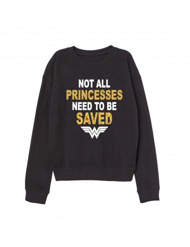 """Dámská mikina """"Not all princess need to be saved"""""""