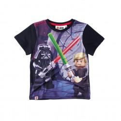 Triko s krátkým rukávem Lego Star wars- černé