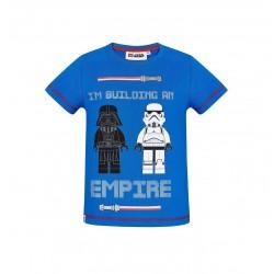 Triko s krátkým rukávem Lego Star wars - modré