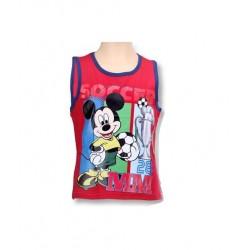 Tílko Mickey Mouse - červené