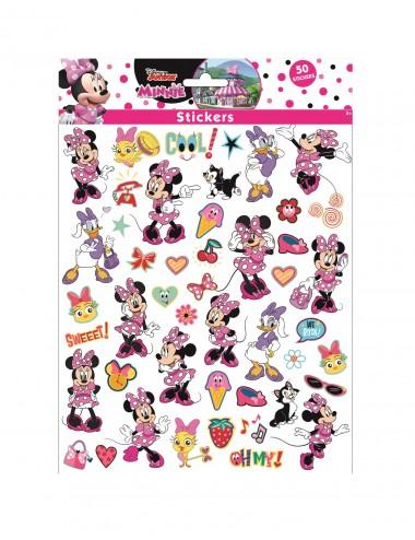 Bublinové samolepky Minnie Mouse