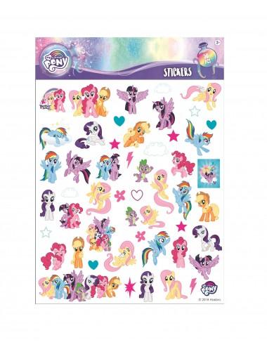 Bublinové samolepky My little pony