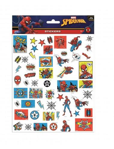 Bublinové samolepky Spider-man