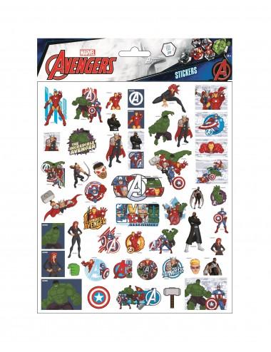 Bublinové samolepky Avengers