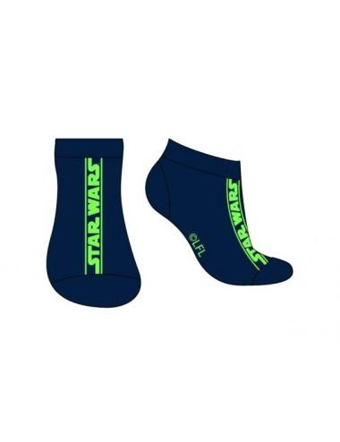Pánské kotníkové ponožky Star wars - zelené