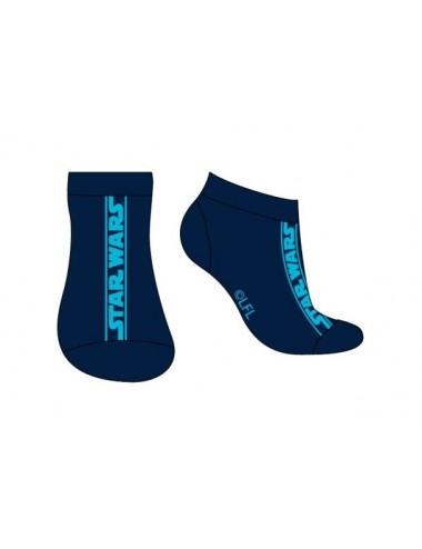 Pánské kotníkové ponožky Star wars - modré