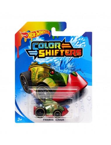 Mění barvu ve vodě! Hot wheels - Piranha Terror (GMB82-0913)