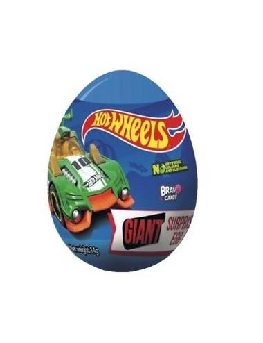 XL vajíčko Hot wheels (sladkost + překvapení)