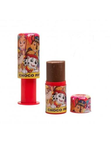 Čokoládové lízátko Tlapková patrola