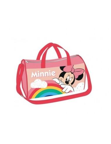 Sportovní taška Minnie Mouse - červený popruh