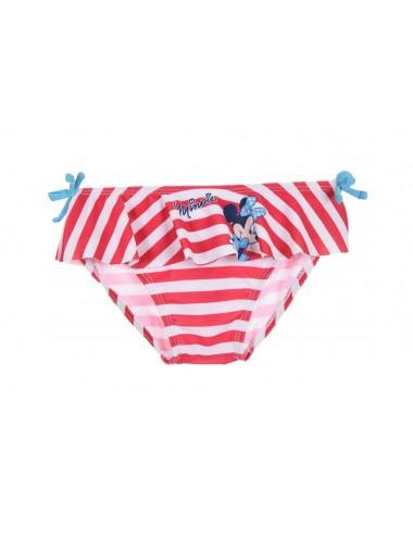 Plavky Minnie Mouse - růžový pruh