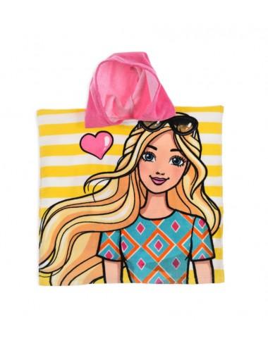 Pončo Barbie - žlutá
