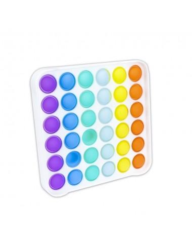 POP IT game - duhový čtverec