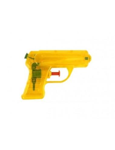 Vodní neonová pistolka - žlutá