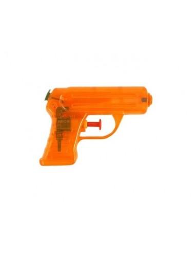 Vodní neonová pistolka - oranžová
