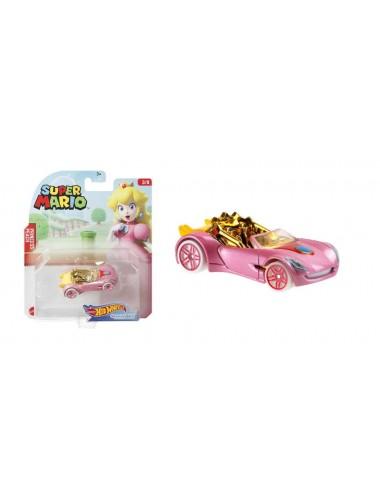 Autíčko Hot wheels herní edice Super Mario - Princezna (3/8)