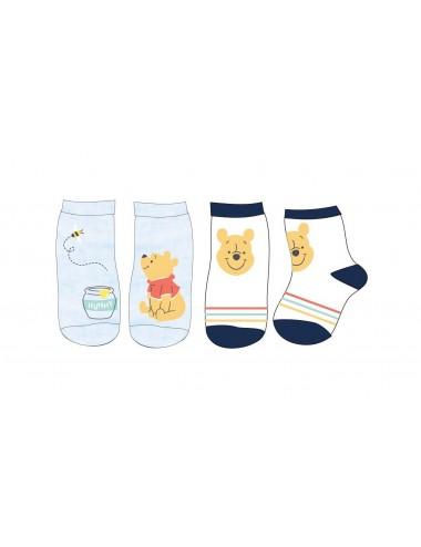 Baby ponožky Medvídek Pú (2 pack)