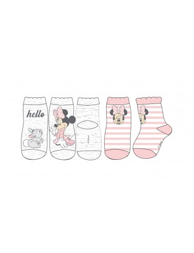 Baby ponožky Minnie Mouse (2 pack)