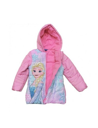 Zimní bunda Ledové království - růžová