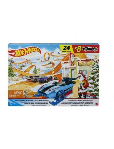 Adventní kalendář Hot wheels 2021